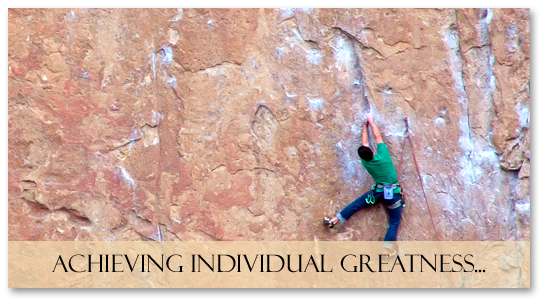 Achieving Individual Greatness